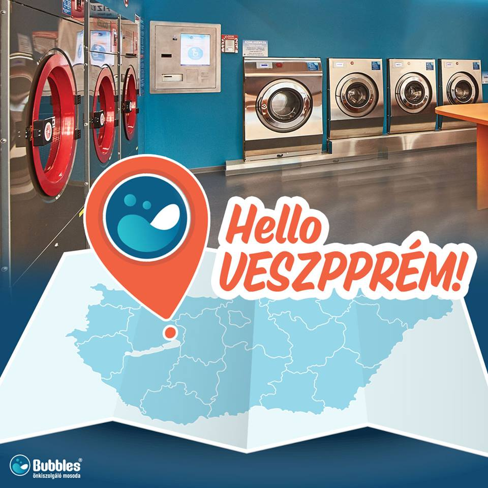 Hello Veszprém! Itt a Bubbles!