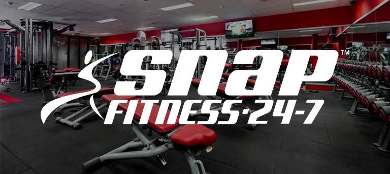 Snap fitness banner